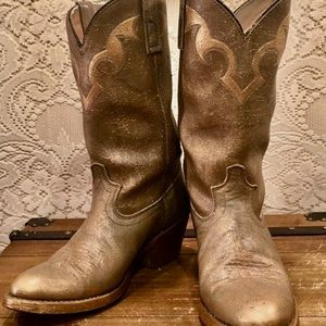 fed11f2ea7a Women Gold Metallic Cowboy Boots on Poshmark